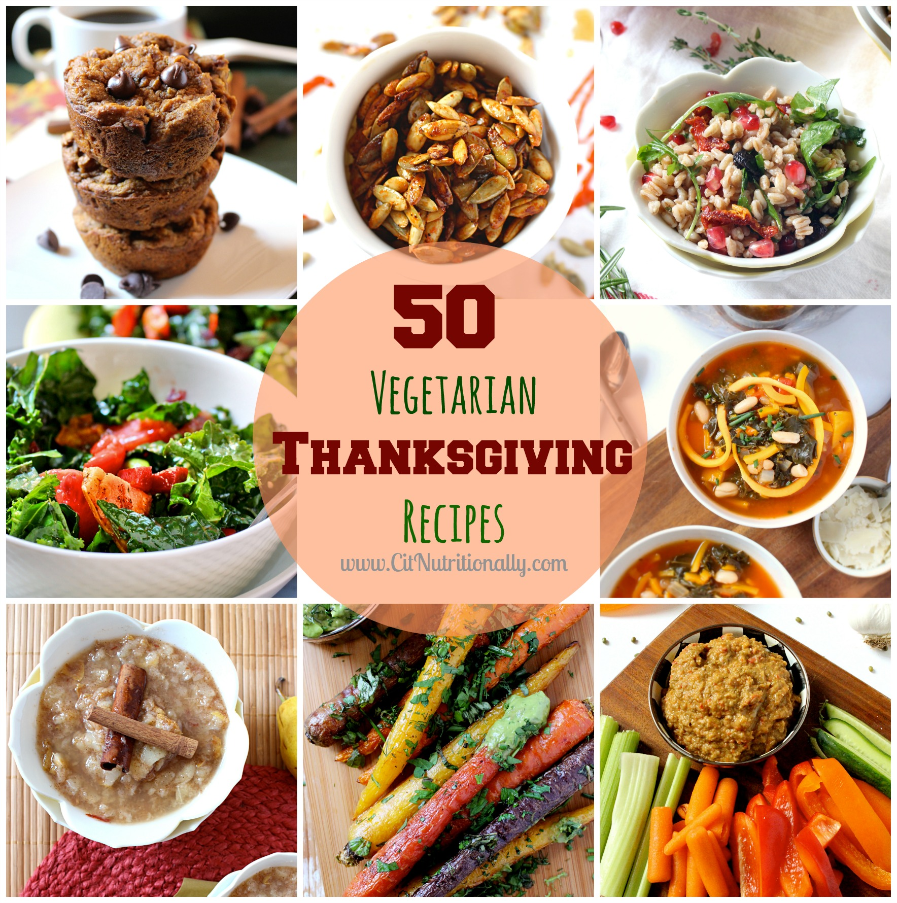 50 Vegetarian Thanksgiving Recipes You Need On Your