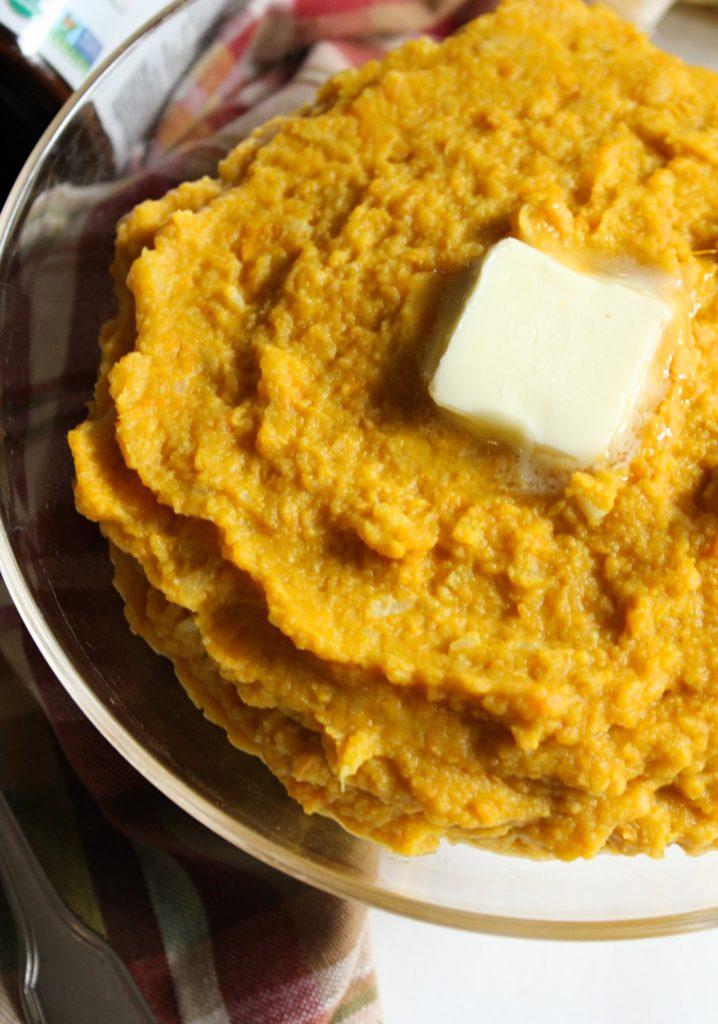Healthier Sweet Potato Mash