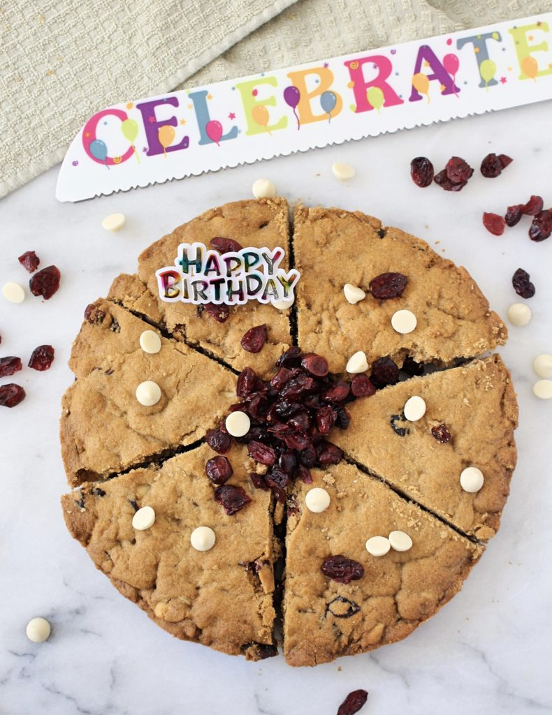 Gluten Free White Chocolate Chip Cranberry Cookies Made With Cassava Flour