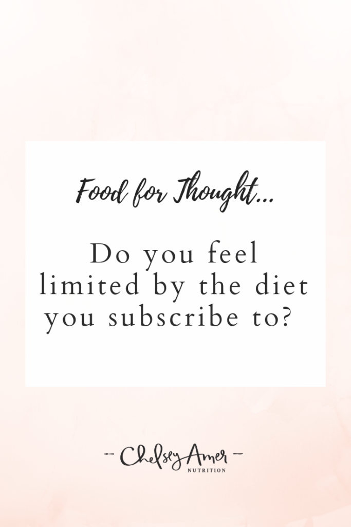 Why I Don't Like Diet Labels and Why I Started Eating Meat